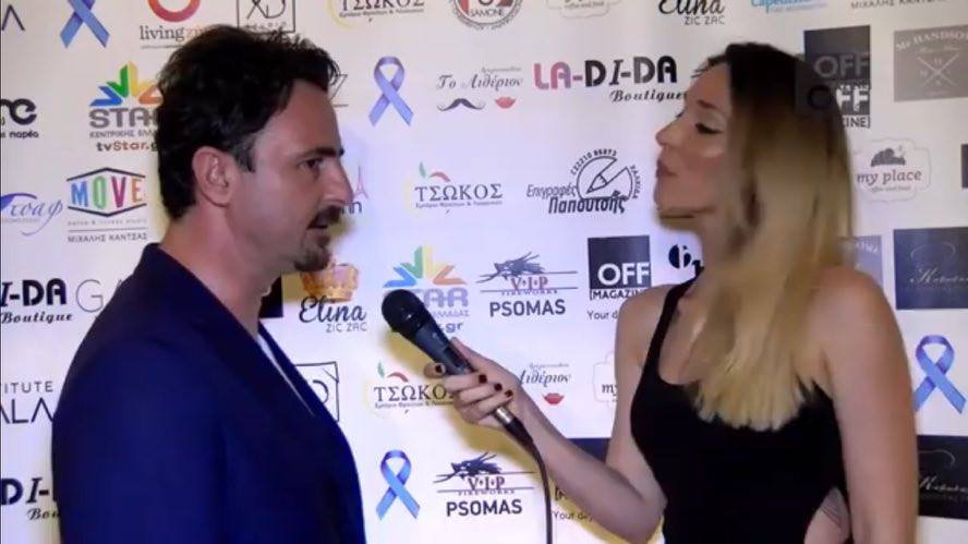 Συνέντευξη του χειρούργου Διαμαντή Θωμά σε φιλανθρωπική εκδήλωση στη Χαλκίδα