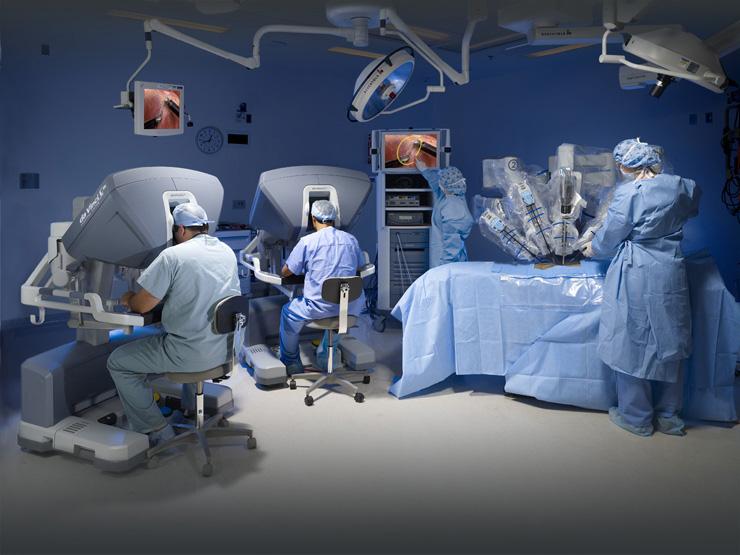 Ρομποτική Χειρουργική Κήλης Ρομποτική Χειρουργική Κήλης 20090620 davinci 023874 low res