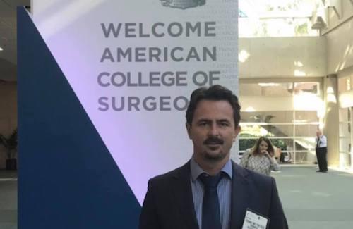 O Διαμαντής Θωμάς στο Παγκόσμιο συνέδριο χειρουργικής στο San Diego