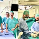 Πρωτοποριακή Ογκολογική επέμβαση αφαίρεσης ευμέγεθους οπισθοπεριτοναικού όγκου  Αρχική